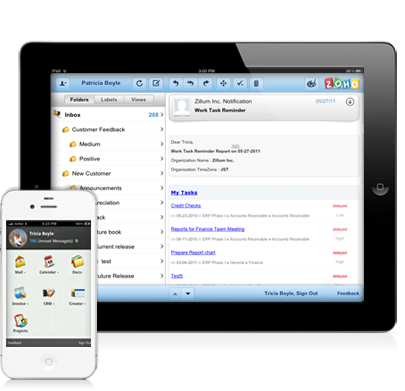 Zoho Mail Mobile